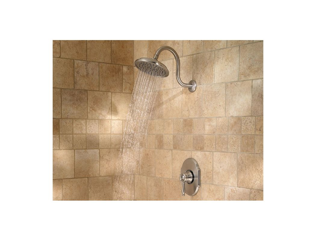 Pfister 808-TMKK Brushed Nickel Hanover 2.5 GPM Single Handle Tub ...