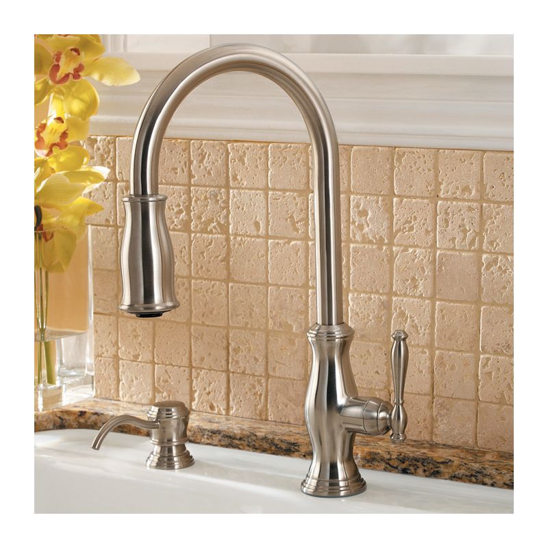 Pfister F-529-7TMY Tuscan Bronze Hanover Pullout Spray Professional ...
