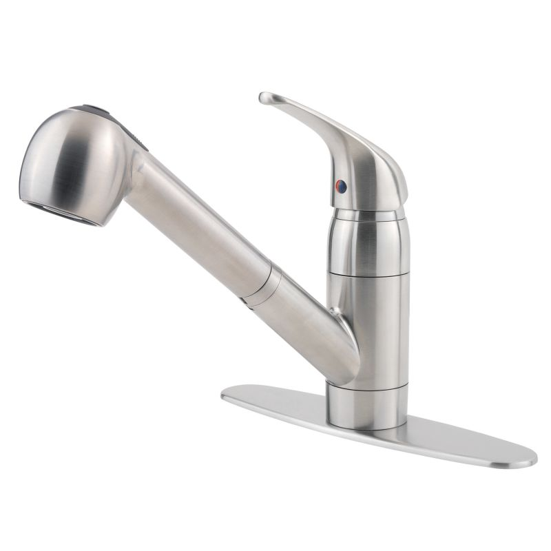 Pfister G133 10ss Stainless Steel Pfirst Pullout Spray Kitchen