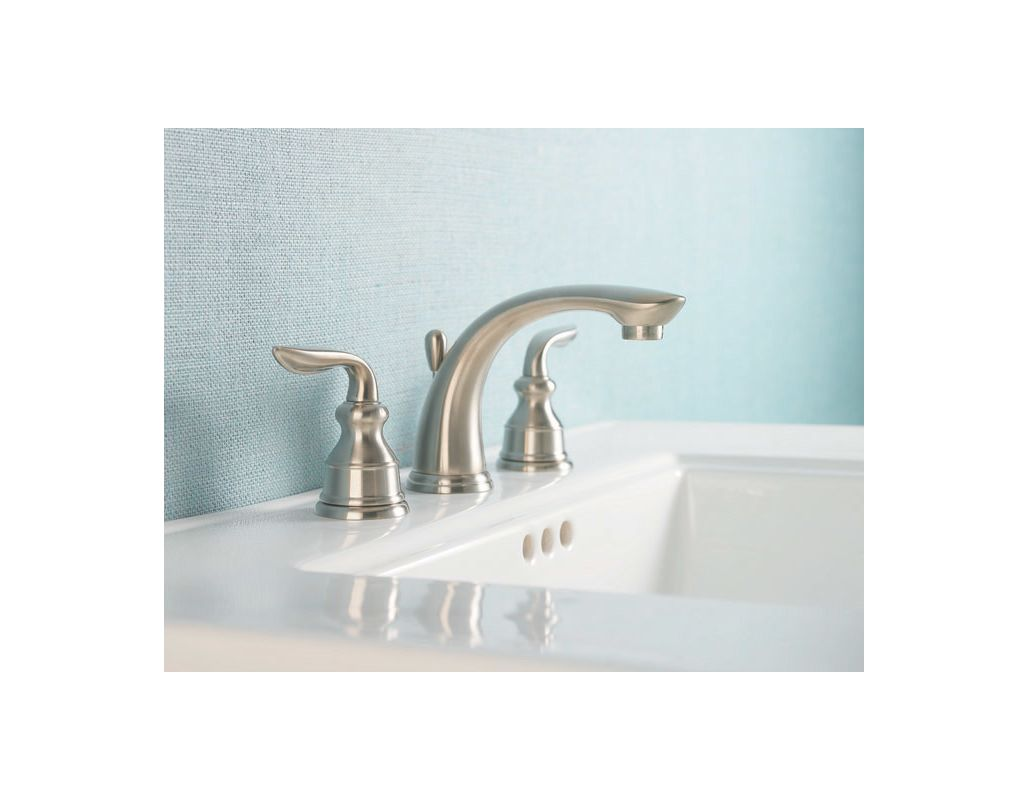 Pfister GT49-CB0C Polished Chrome Avalon Widespread Bathroom Faucet ...