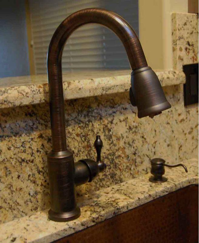 Kitchen Sink Faucets Bronze premier copper products k-pd01orb oil rubbed bronze kitchen faucet