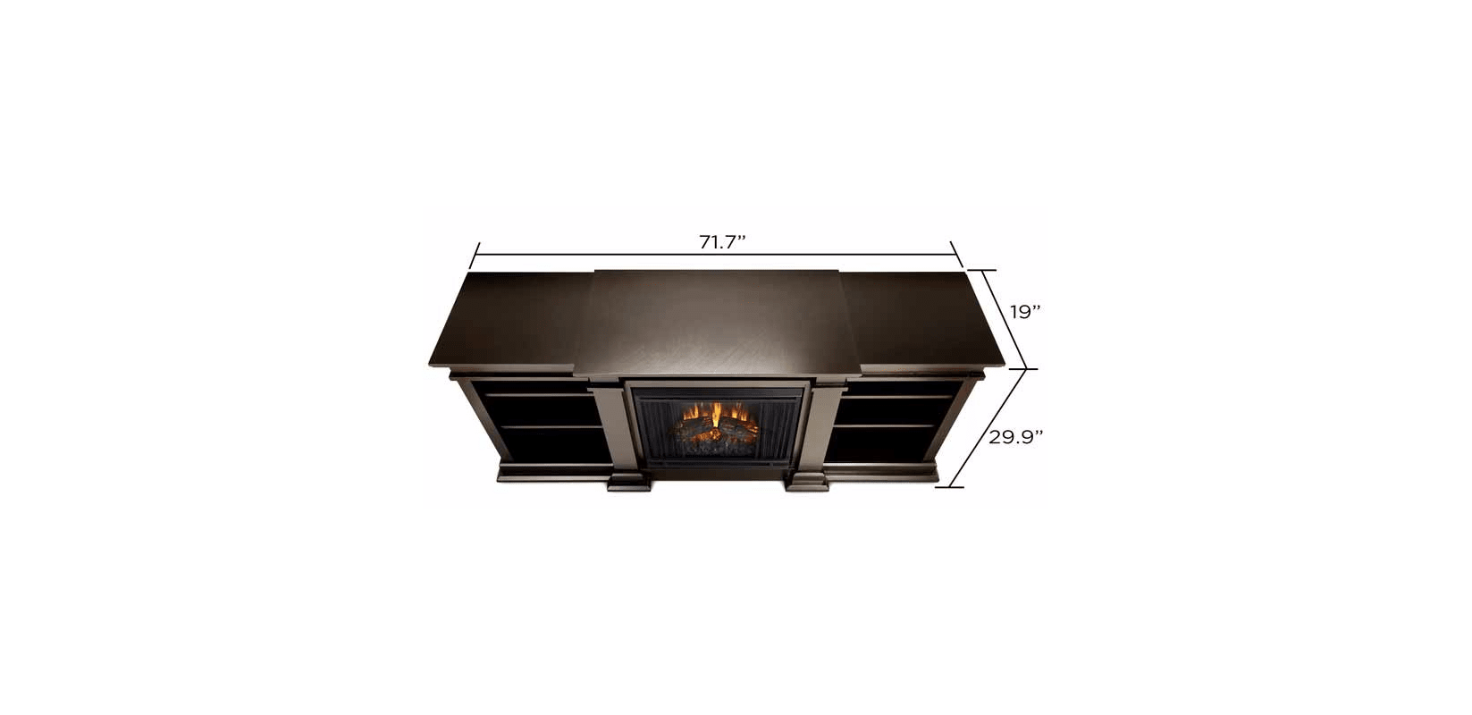 real flame fresno indoor electric fireplace entertainment center