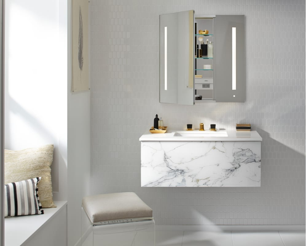 mirror robern mirrors beveled reviews cabinet cabinets medicine