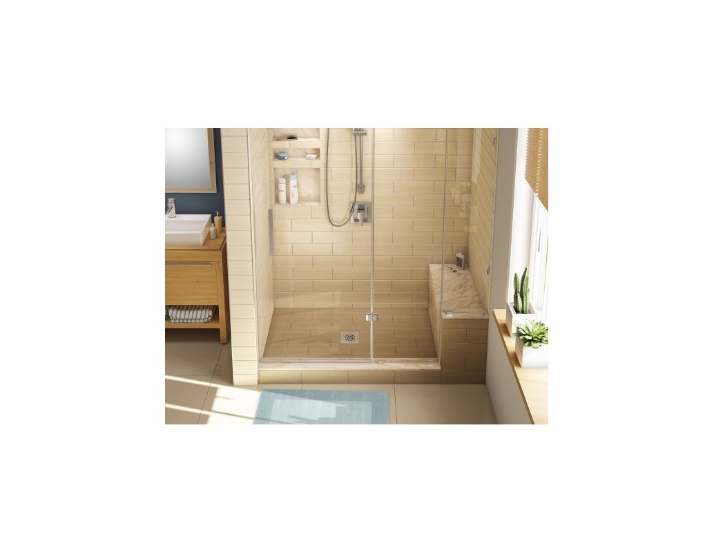 Tile Redi P3648c Rb36 Kit N A Base Bench 36 X 48 Shower With Single Threshold And Center Drain Includes 12 Faucet
