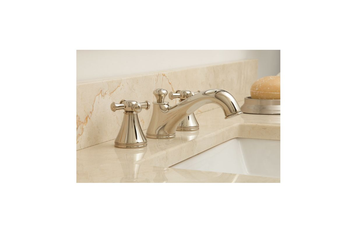 Toto TL220DD#CP Polished Chrome Vivian Double Handle Widespread ...