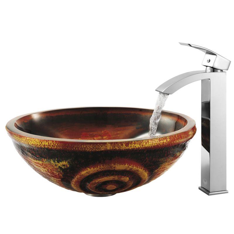 Vigo Bathroom Faucets vigo vg03007bn brushed nickel duris single hole bathroom faucet