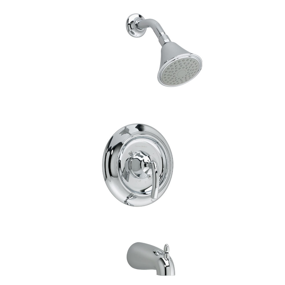 American Standard T038.502.002 Polished Chrome Tropic Tub and Shower ...