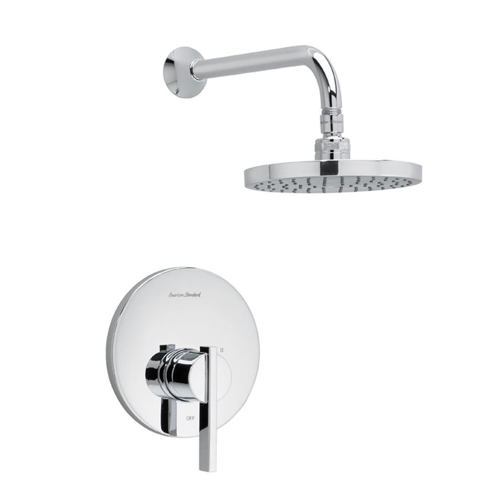 American Standard T430501002 Polished Chrome Berwick Shower Trim