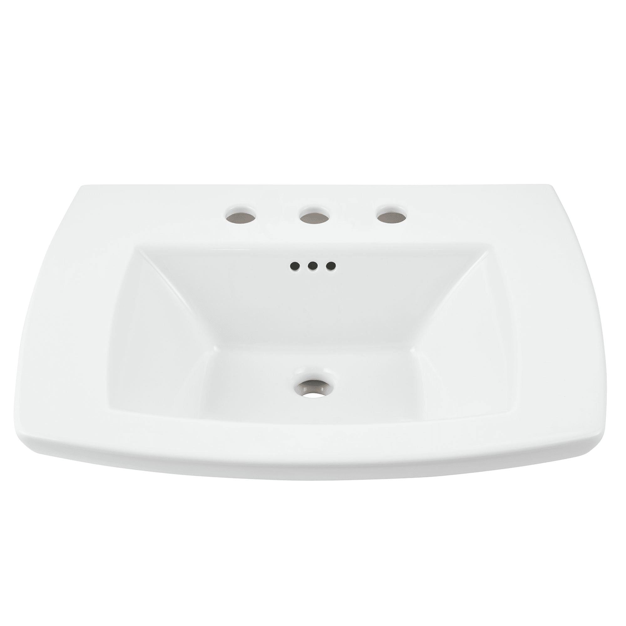 American Standard 0445008.020 White Edgemere 25\
