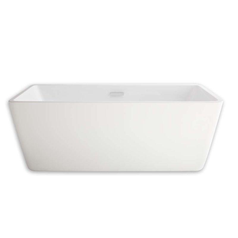 american standard free standing tub. American Standard 2766 034 020 White Sedona Loft 62 3 4  Soaking Bathtub For Free Standing Installation With Center Drain Faucet Com