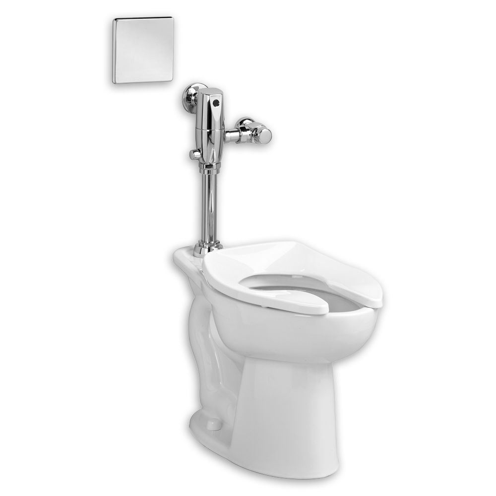 American Standard 3043.716.020 White Madera Elongated One Piece Toilet With  Right Height Bowl   Includes Flushometer   Faucet.com