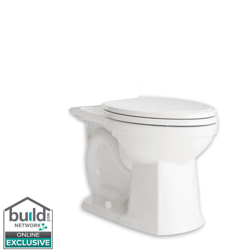 American Standard 3070A.101.020 White Estate Elongated Toilet Bowl ...