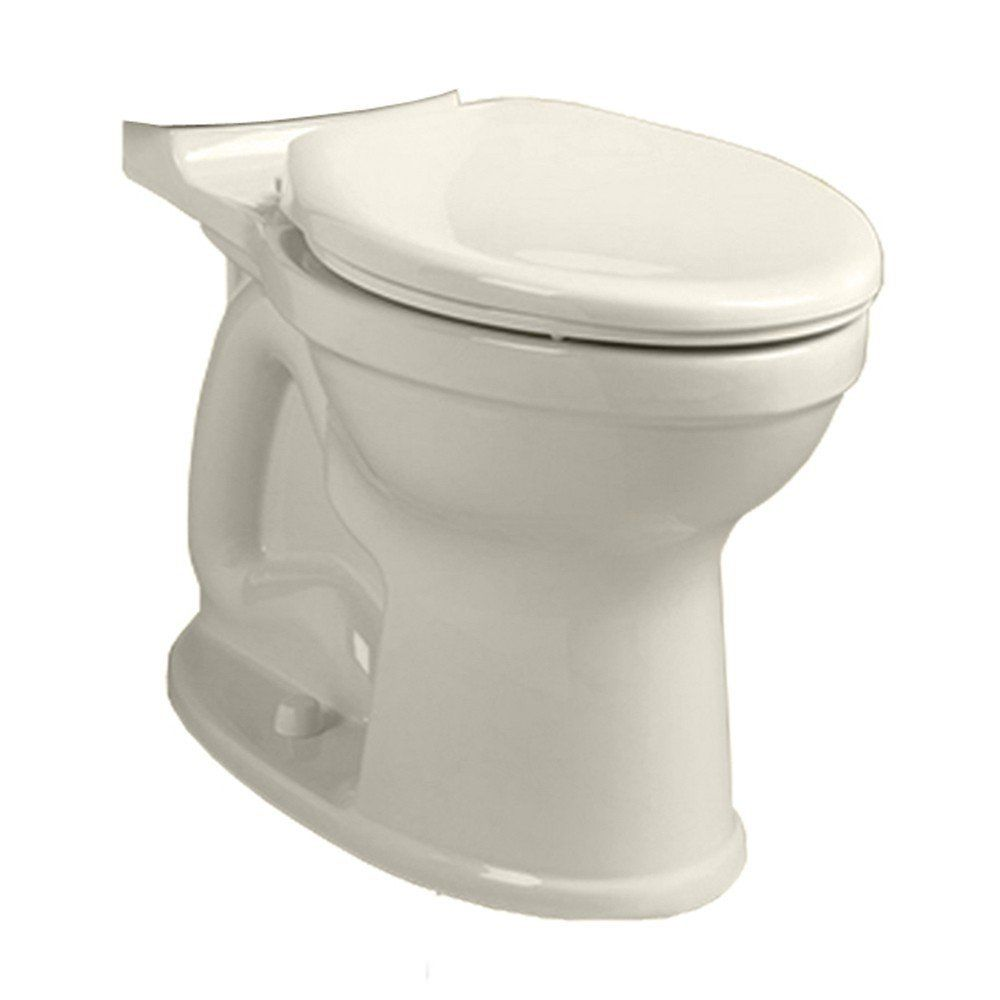 American Standard 3195a 101 021 Bone Champion Pro Elongated Toilet Bowl Only With Everclean Surface Powerwash Rim And Right Height Faucet Com
