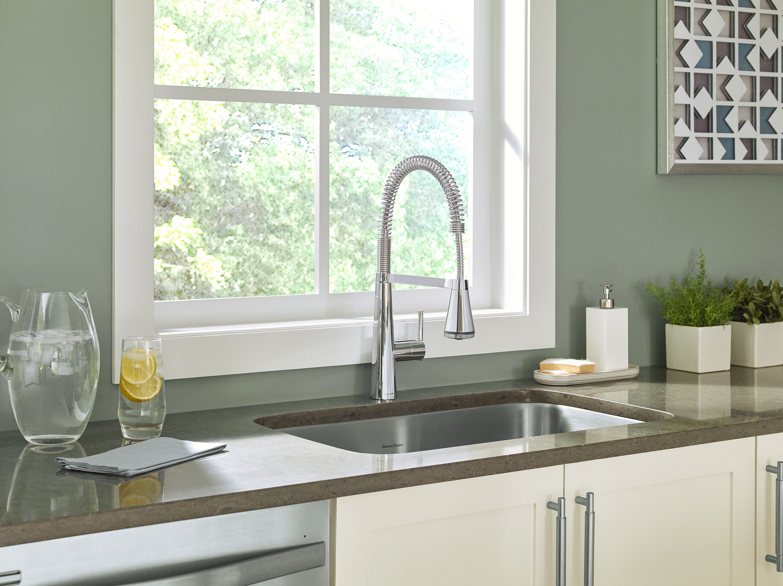 American Standard 4932.350.075 Stainless Steel Edgewater Pre-Rinse ...