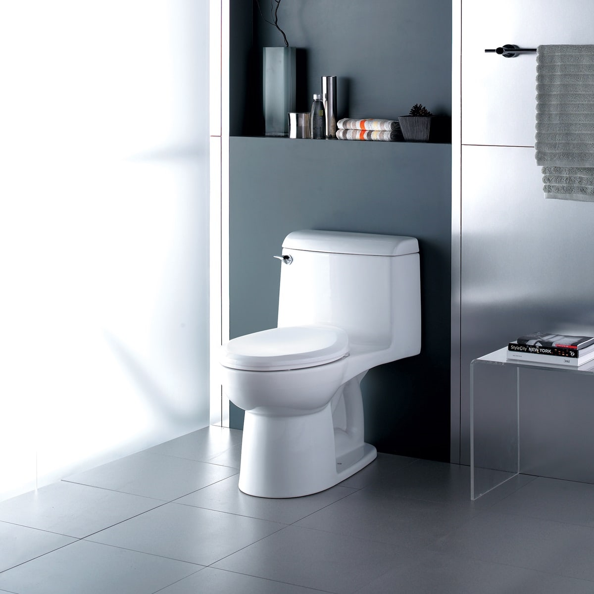 American Standard 2004.314.020 White Champion 4 Elongated One-Piece ...