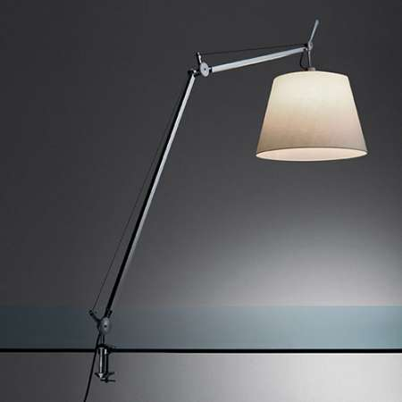 Tolomeo Table Lamp With Shade Artemide Tls0008, Tolomeo Table Lamp With Clamp