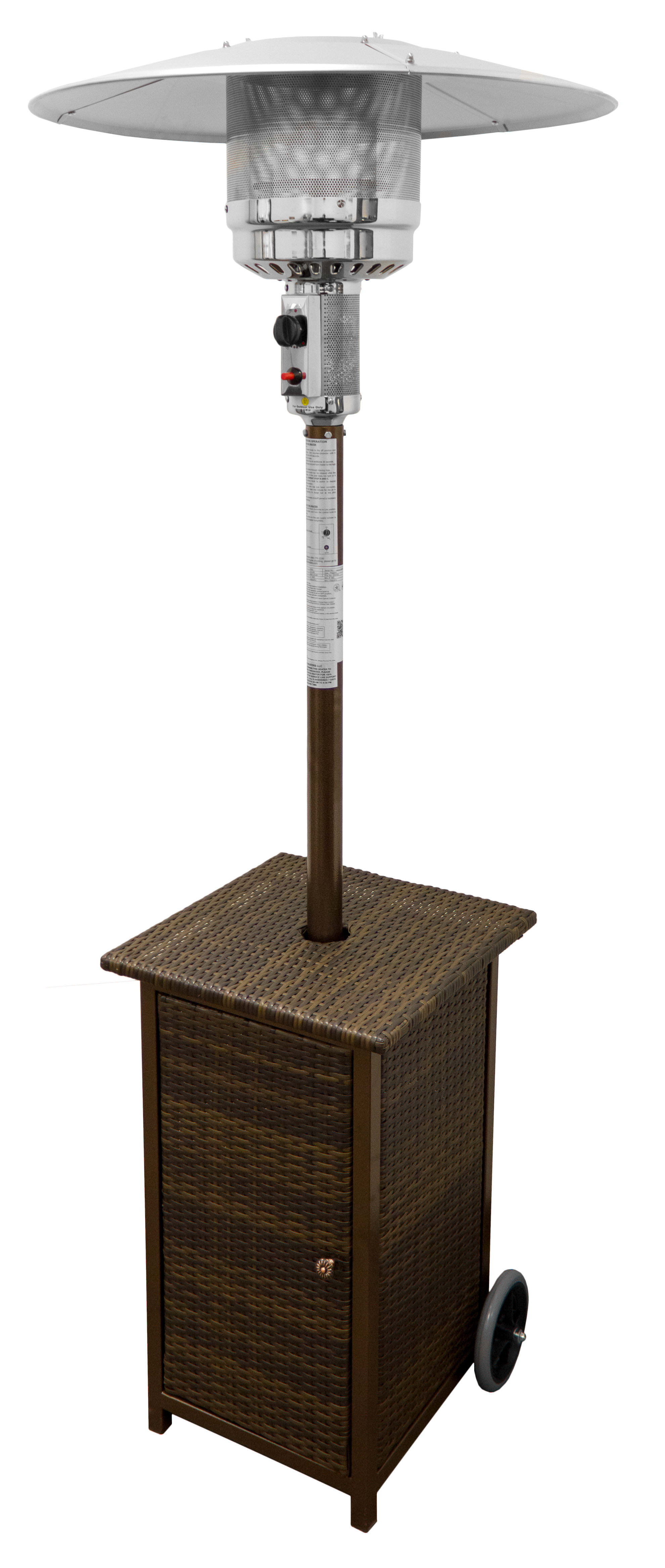 AZ Patio Heaters Heaters Outdoor Living HLDS01 WHSQ