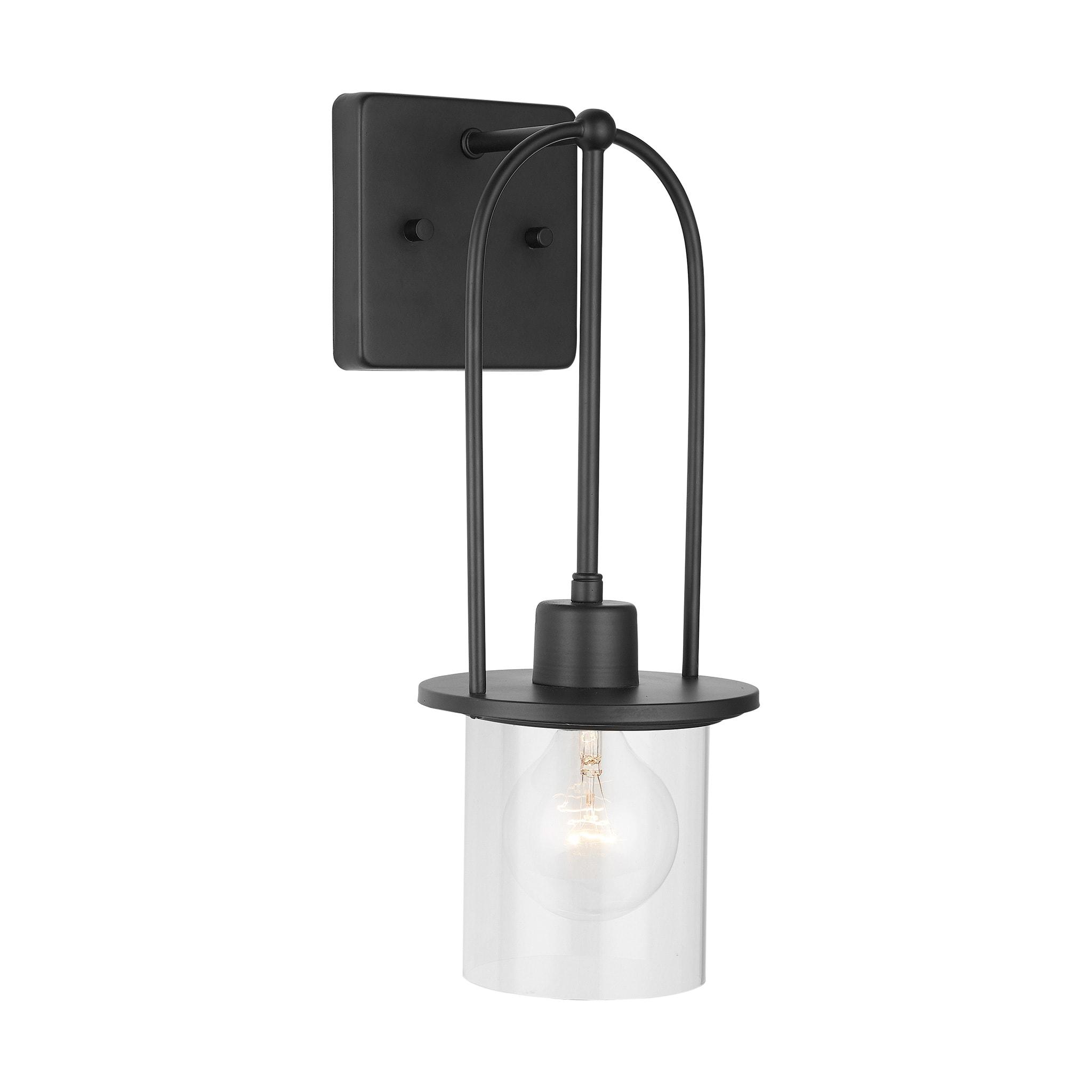 Image of: Bellevue Ca9d321a Mb Matte Black Single Light 16 Tall Bathroom Sconce Lightingdirect Com