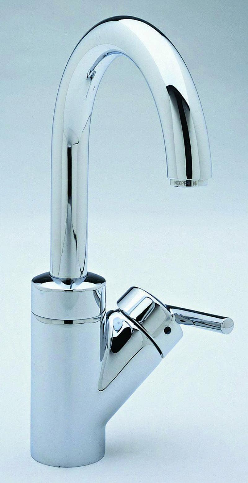 Blanco 440625 Polished Chrome Rados Single Handle Bar Faucet ...