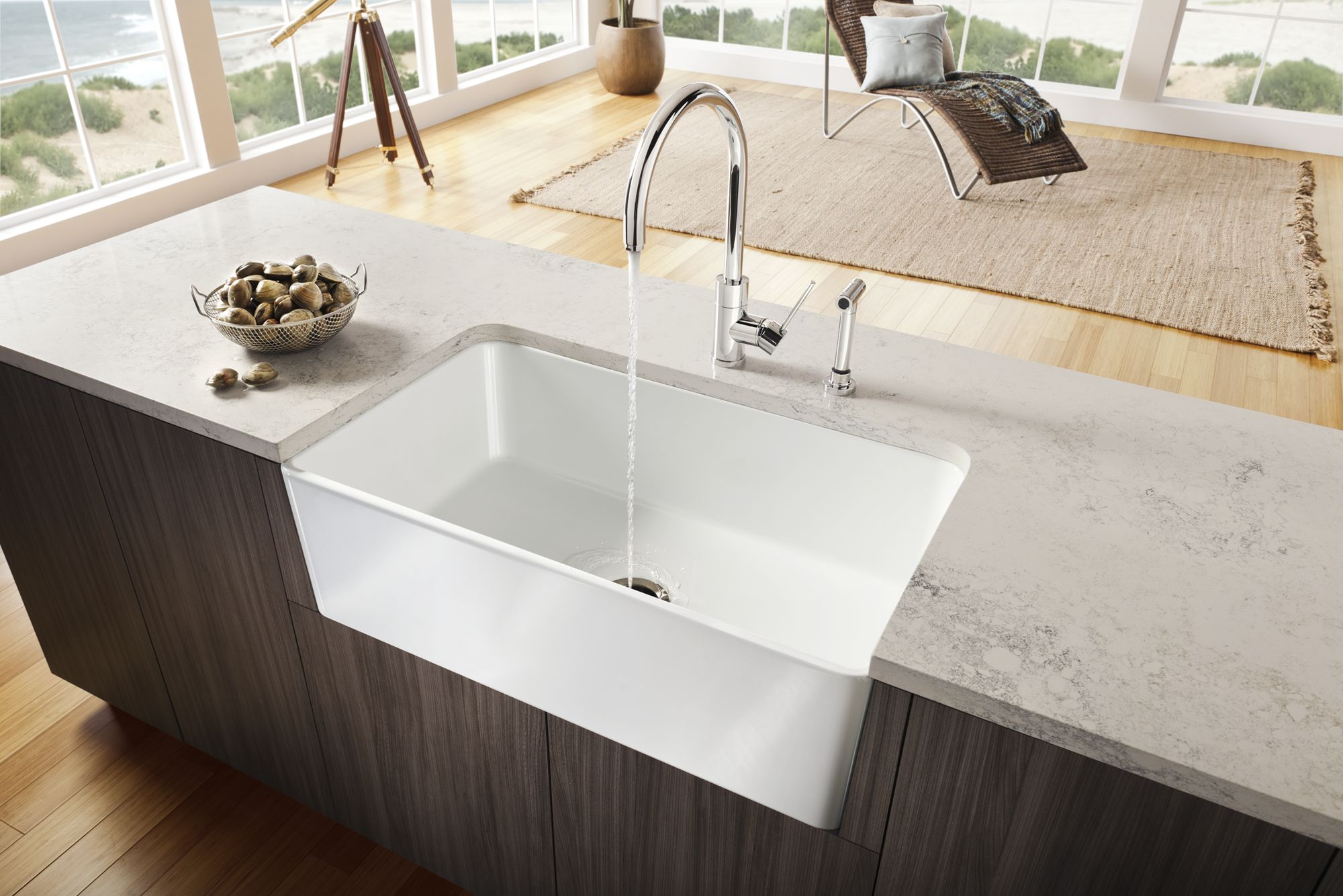 cerana farmhouse faucetdirect sink com white blanco fireclay style kitchen single basin faucet
