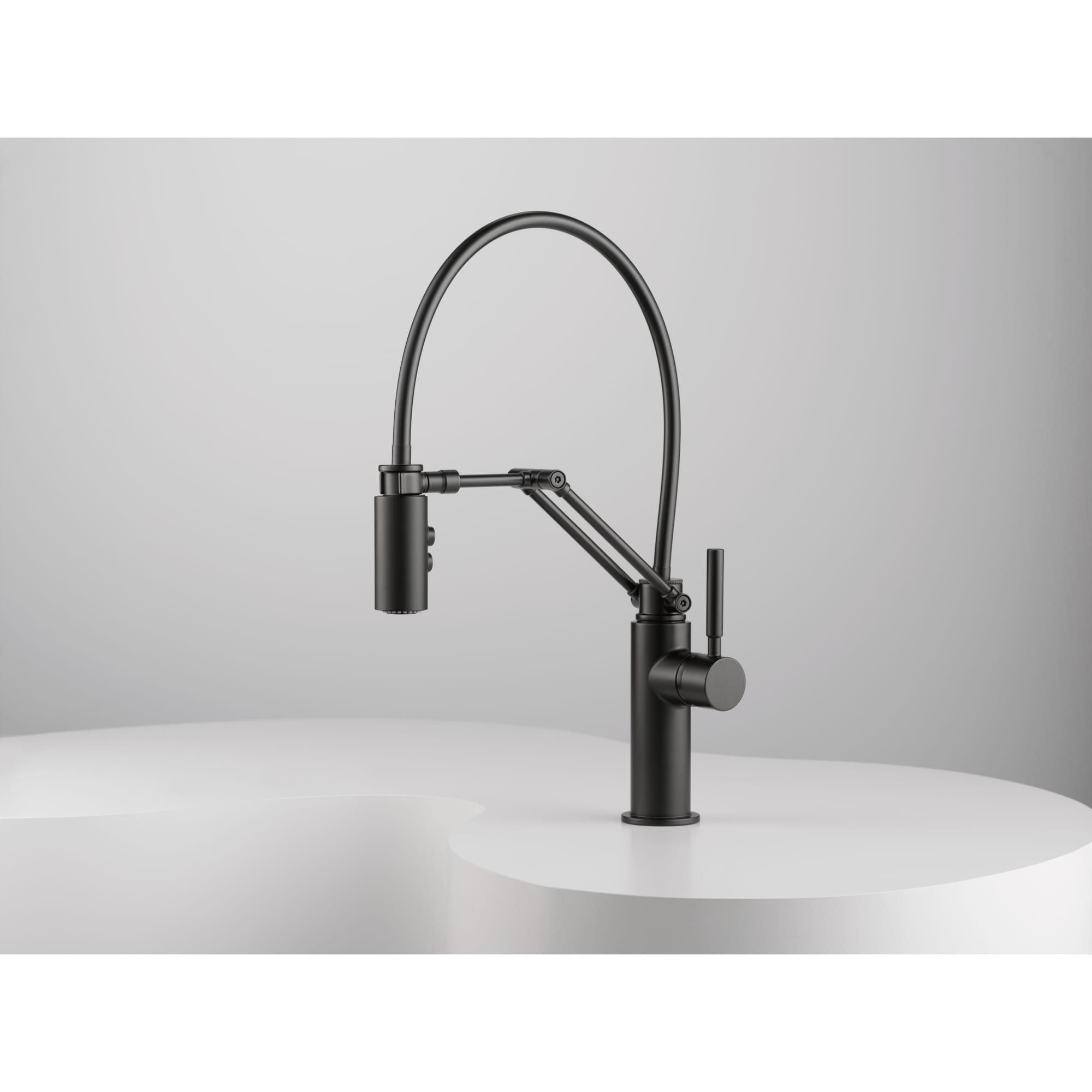 collection black automatic makeovers faucet single matte for solna product handle kitchen fancy brizo of finish in your faucets kraus easy