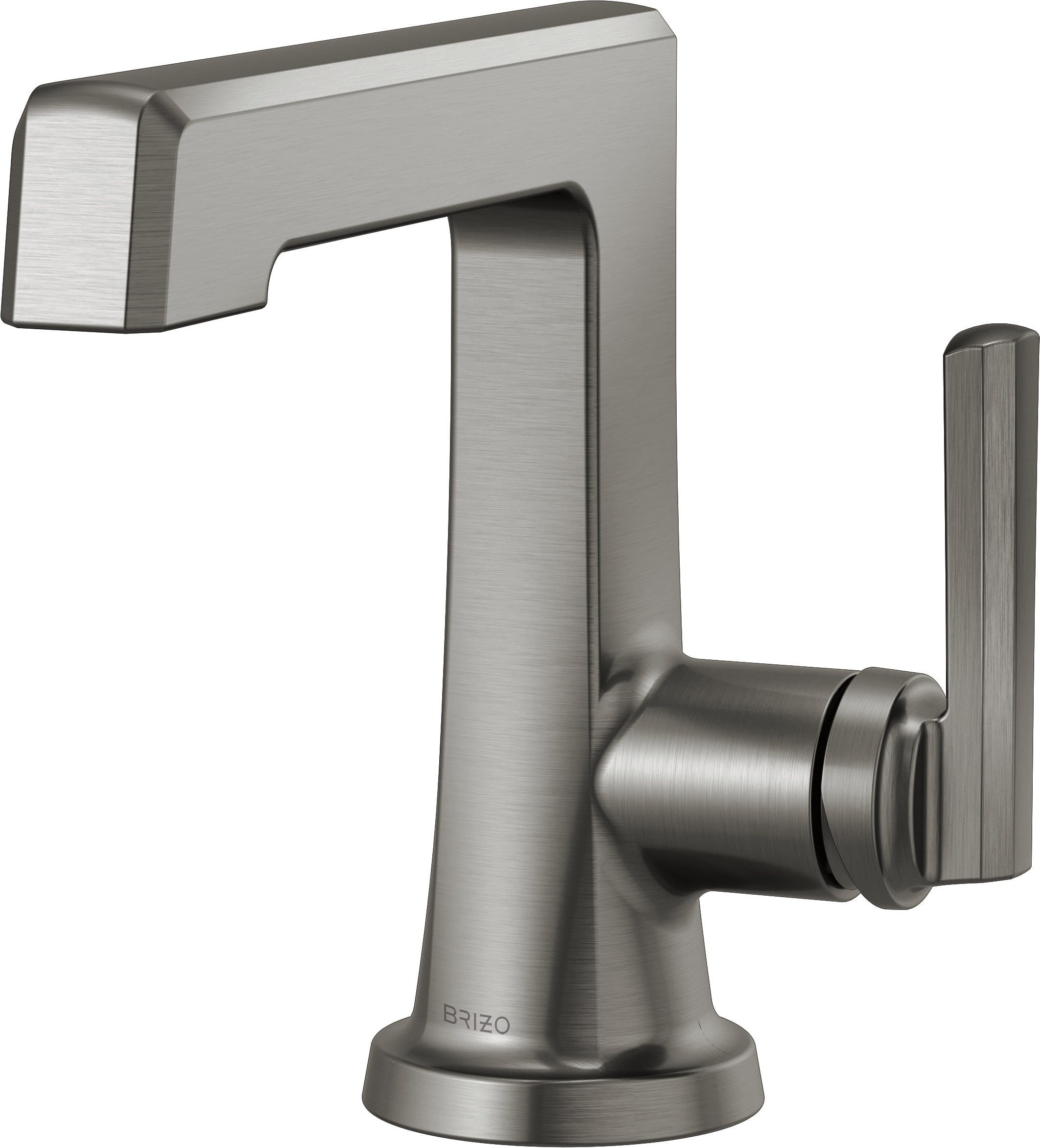 Brizo 65098lf Sl Luxe Steel Levoir 1 5 Gpm Single Hole Bathroom Faucet Pop Up Drain Assembly Included Limited Lifetime Warranty Faucetdirect Com