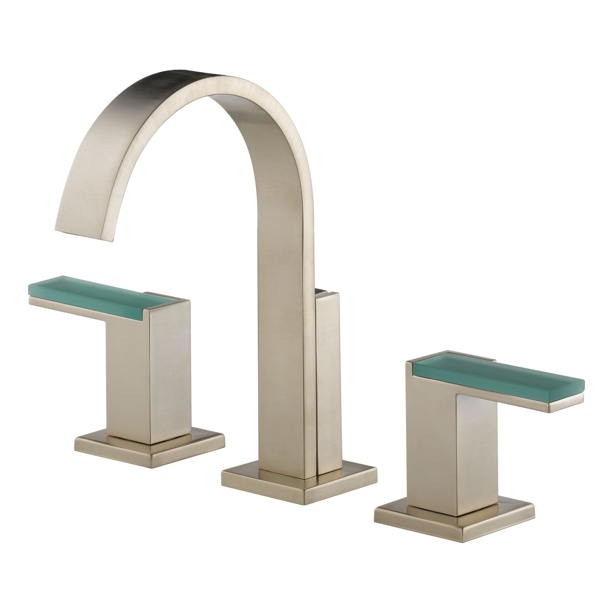 Brizo 65380LF-BNLHP-ECO Brilliance Brushed Nickel Siderna Widespread Bathroom Faucet with Pop-Up Drain Assembly - Includes Lifetime Warranty - Less Handles ...