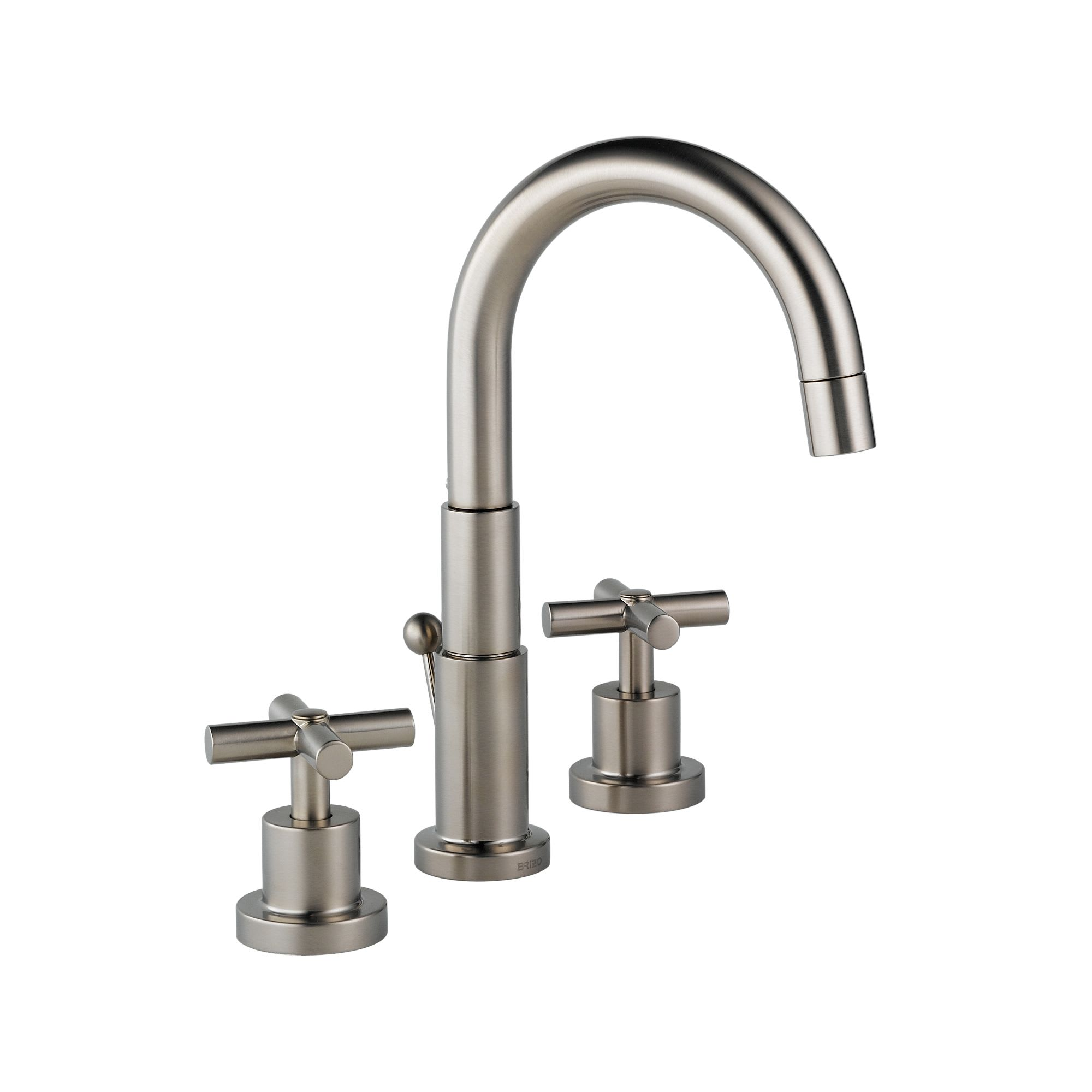 Brizo 6516017-BN Brushed Nickel Bathroom Faucet Double Handle ...