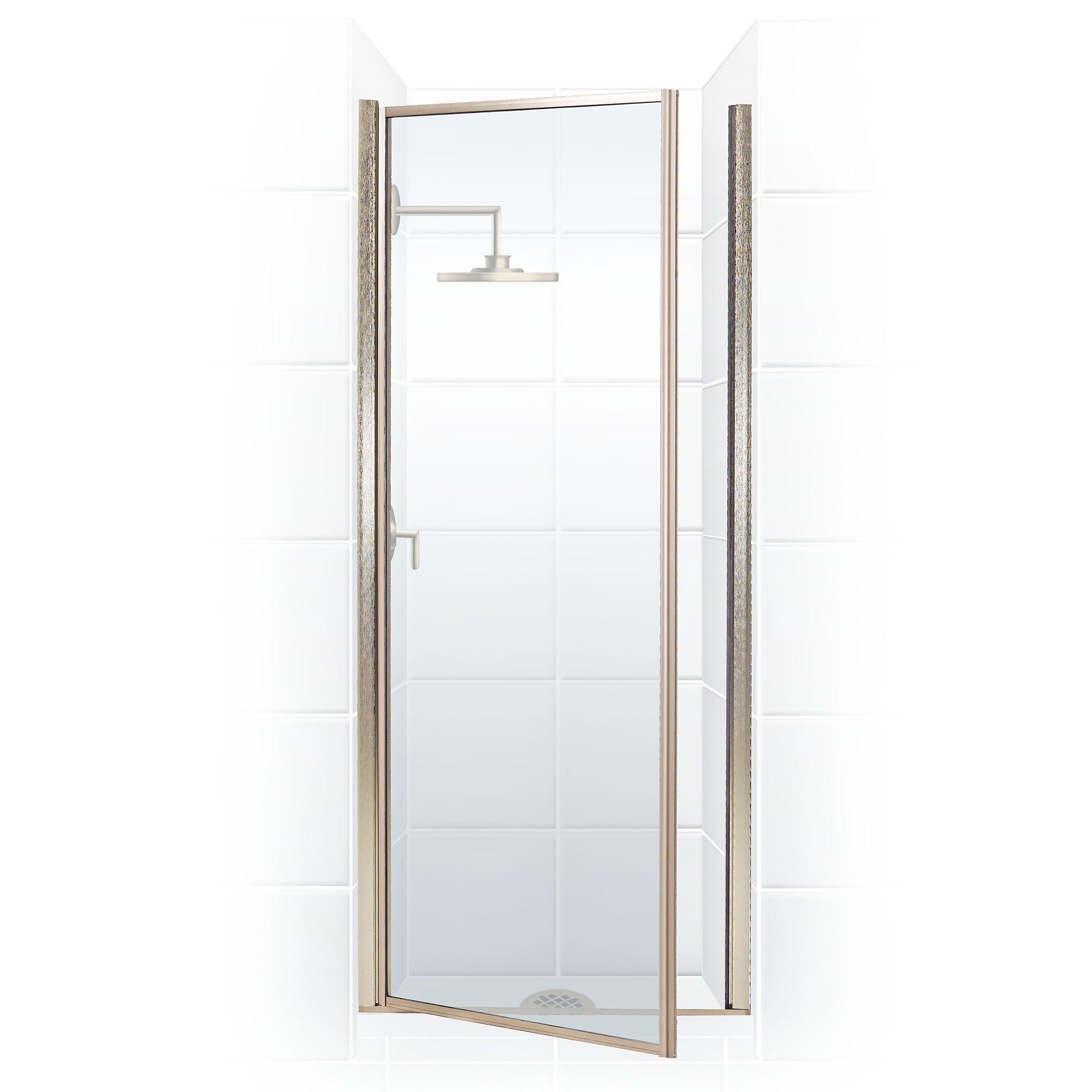 Coastal Shower Doors L30 69o C Black Bronze Legend Series 30