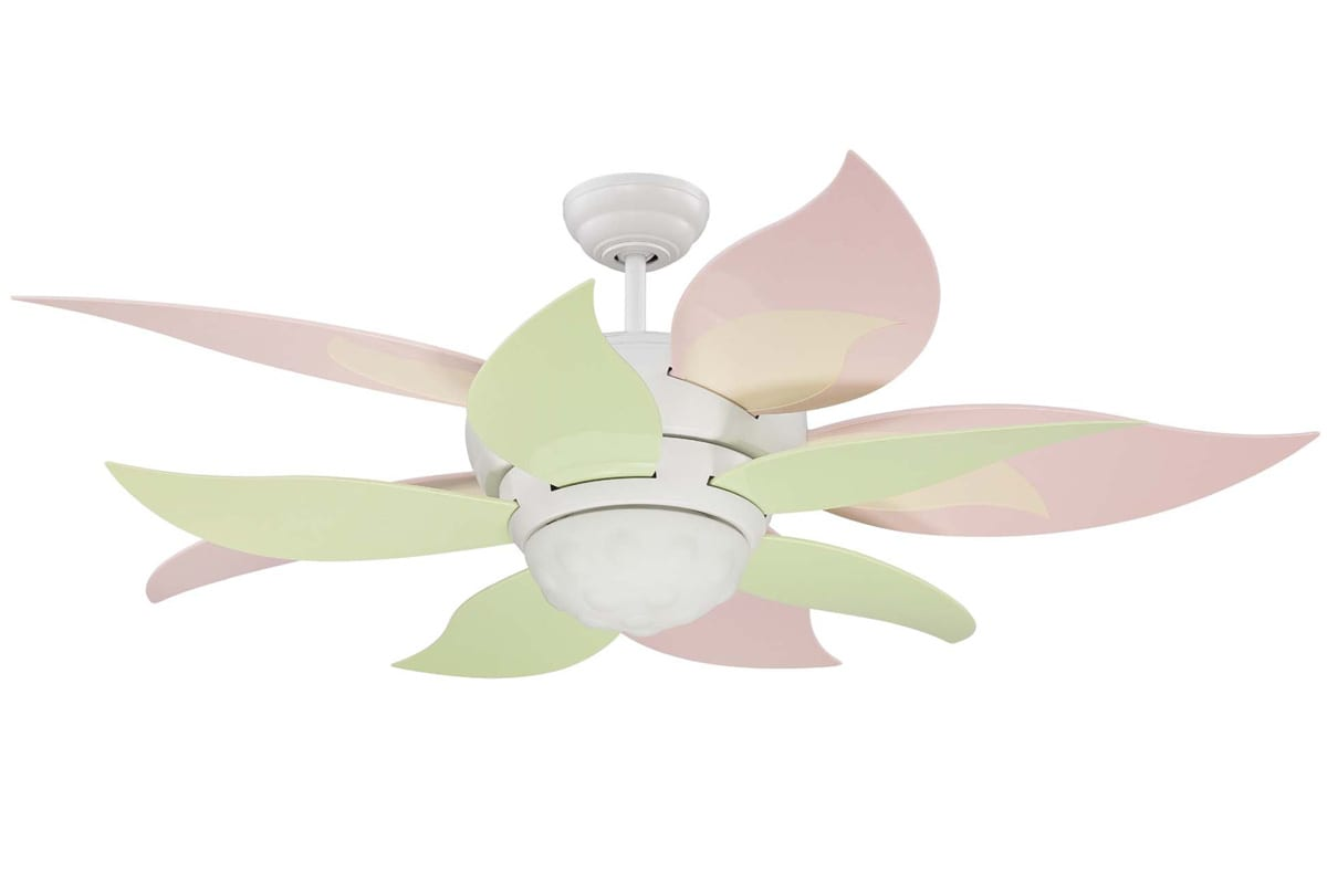 Craftmade bl52w white bloom 52 ceiling fan remote and light kit craftmade bl52w white bloom 52 ceiling fan remote and light kit included requires blade selection aloadofball Gallery