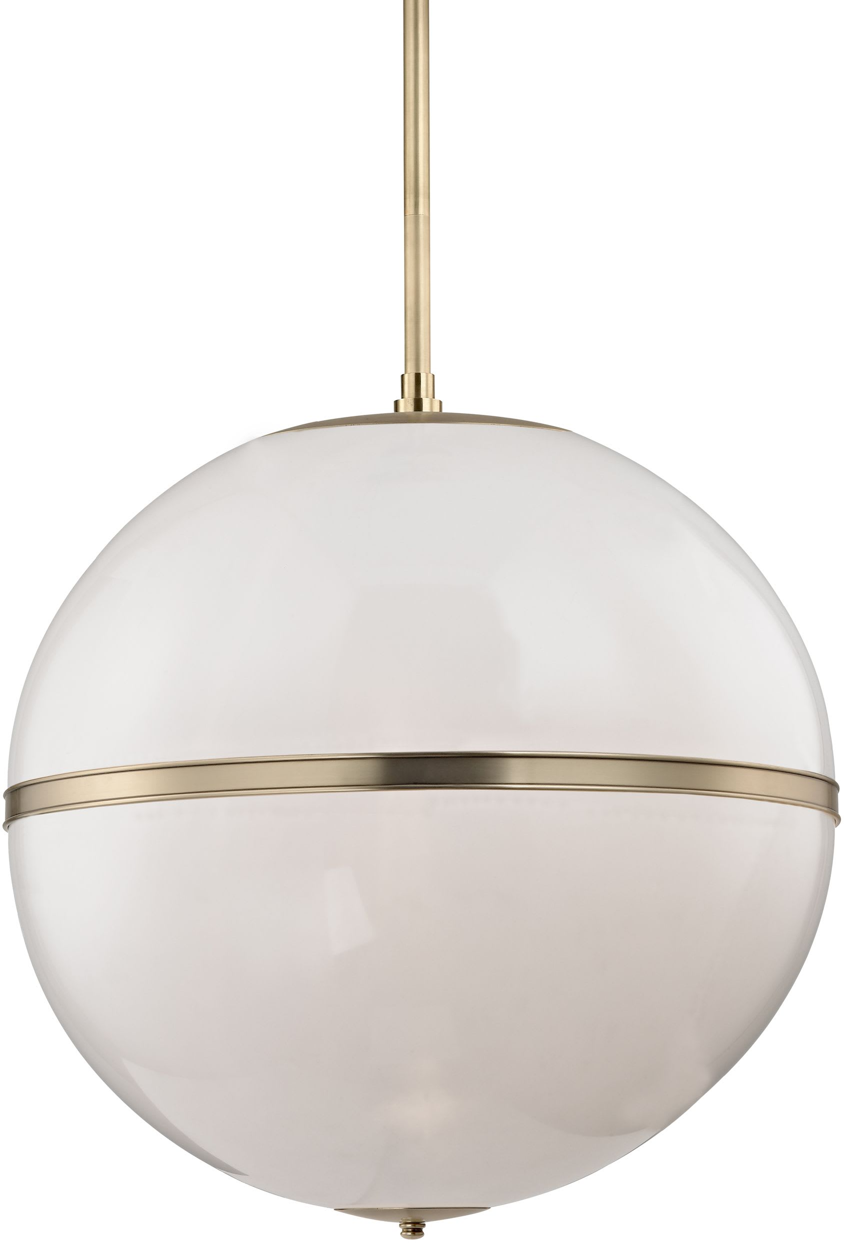 Crystorama Lighting Group 2030 Ag Aged Brass Truax 3 Light 30 Wide Globe Chandelier With White Glass Shade Lightingshowplace Com