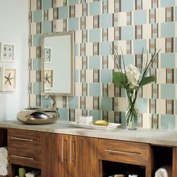 "2/"" x 2/"" Square Mosaic Wall Tile Unpolished Tile Daltile D22MSP  Keystones"