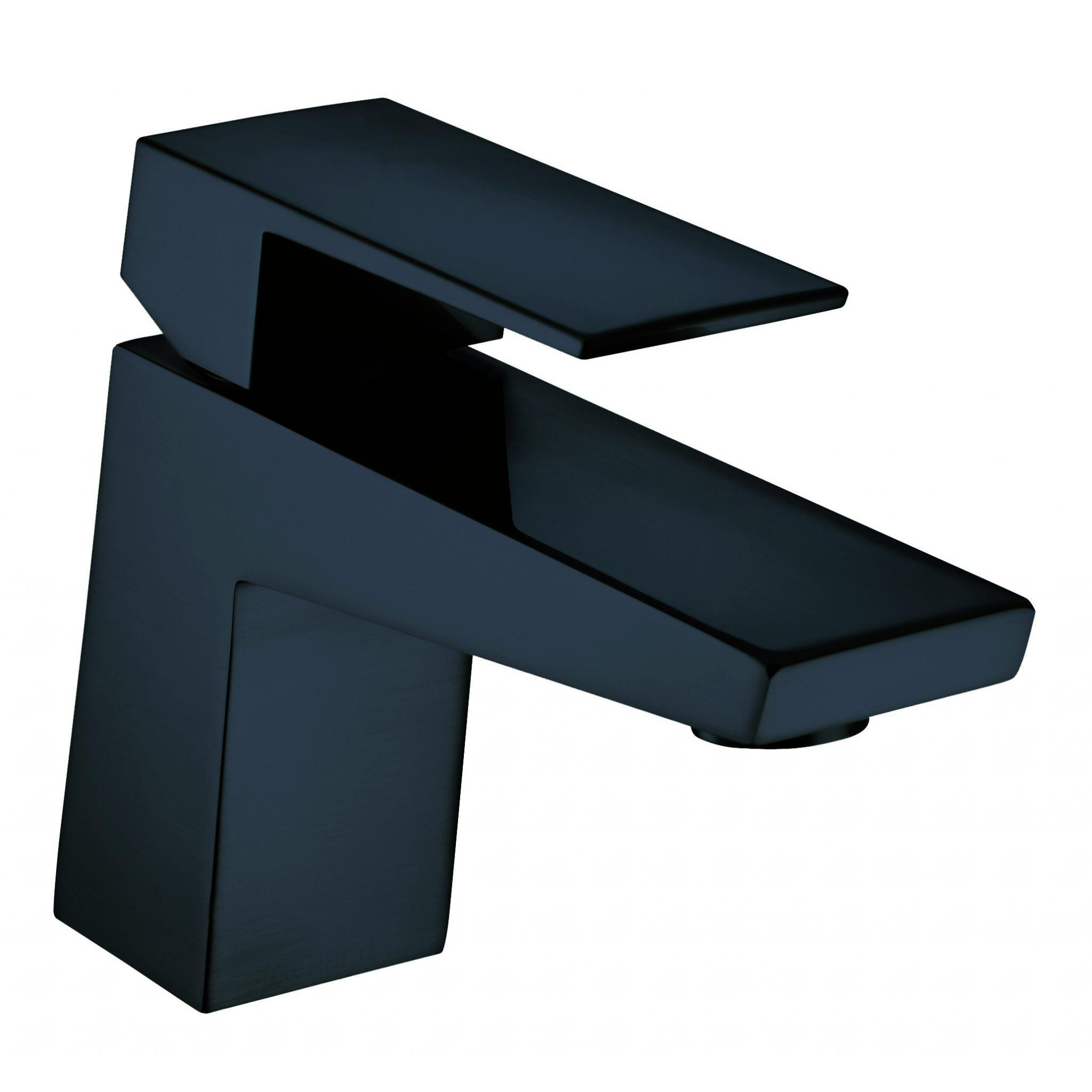 Danze D222562BS Satin Black Single Hole Bathroom Faucet From the Mid ...