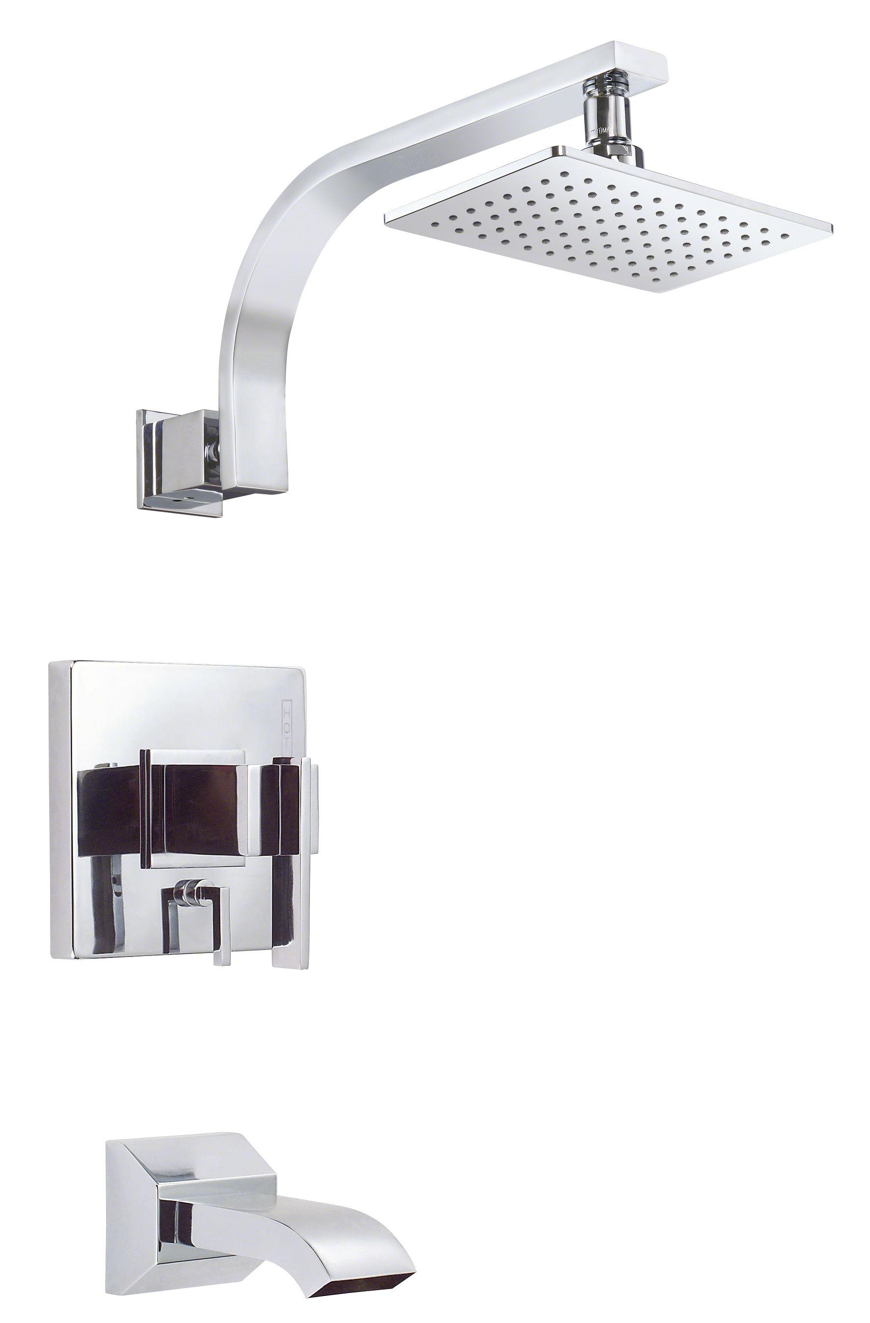 Danze D510044T Chrome Pressure Balanced Tub and Shower Trim Package ...