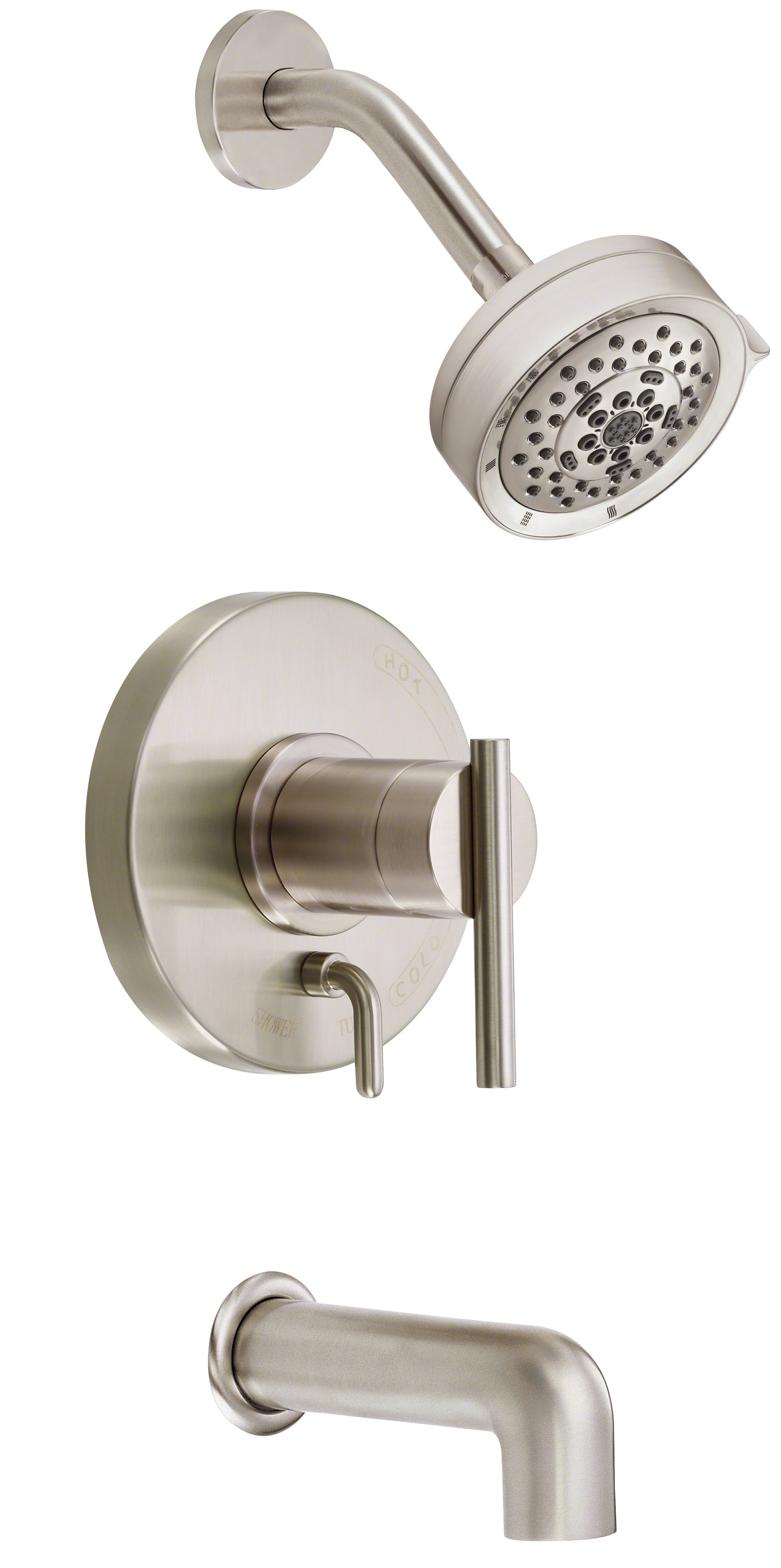 Danze Bathroom Accessories Danze D510058t Chrome Pressure Balanced Tub And Shower Trim