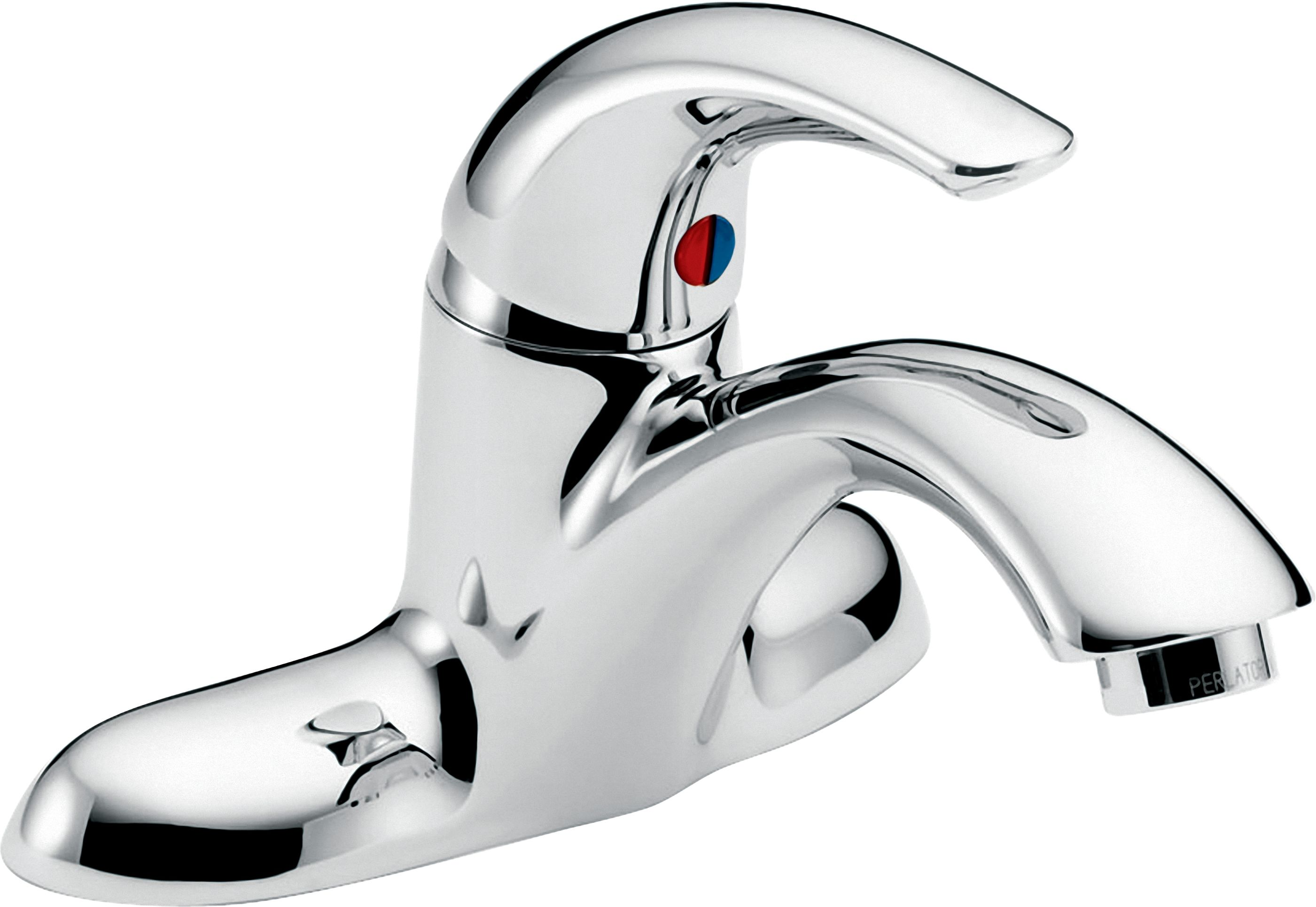 Delta 22c021 chrome single handle 1 5gpm bathroom faucet with antimicrobial by agion and pop up hole less pop up assembly from the commercial series