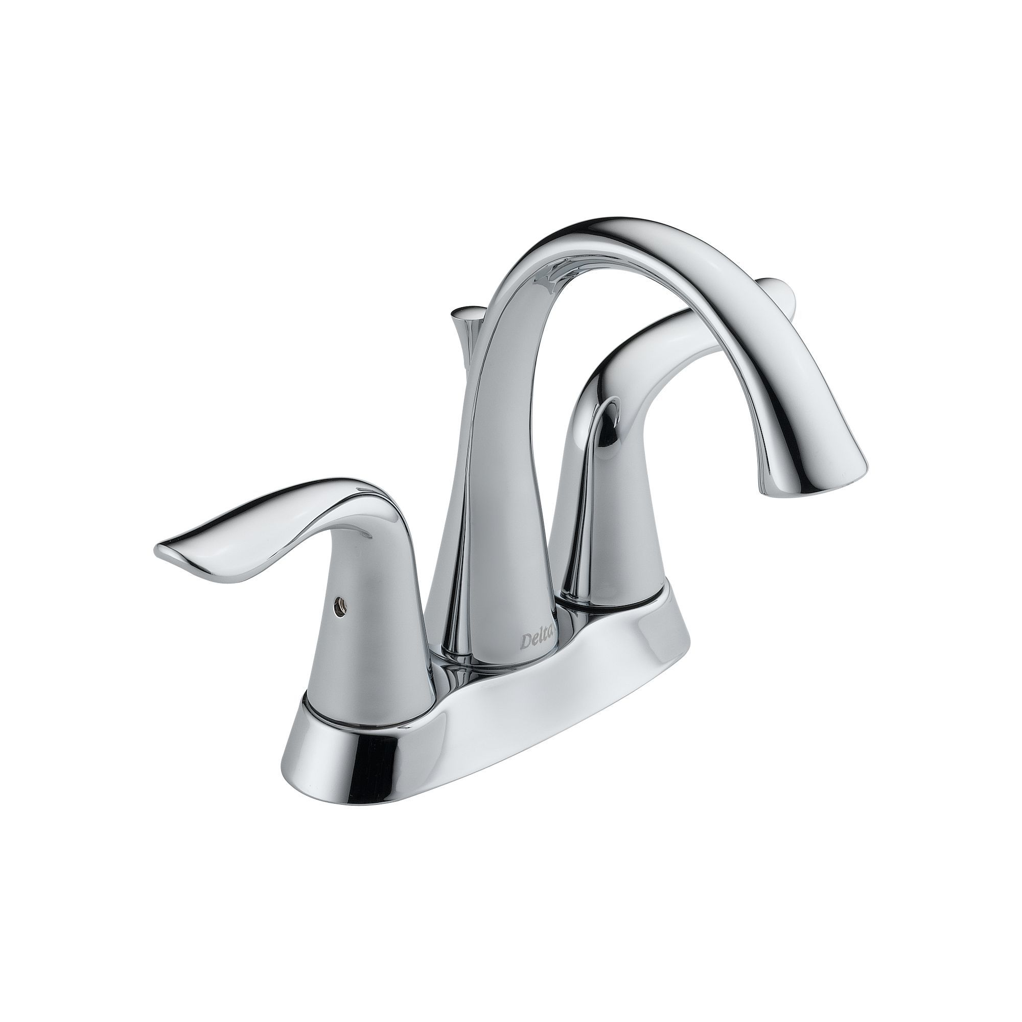 Delta 2538 Tp Dst Chrome Lahara Centerset Bathroom Faucet With Pop
