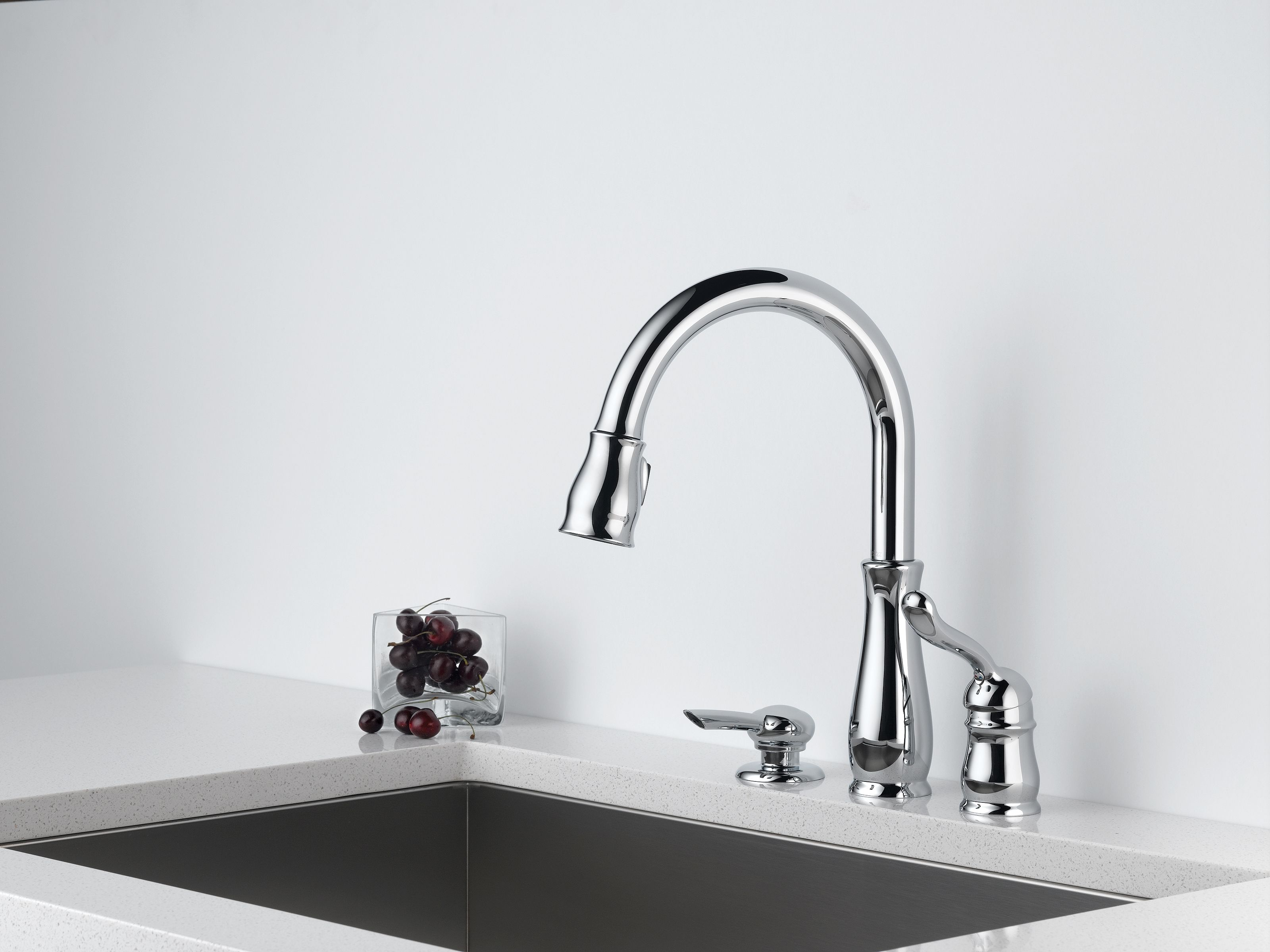 kitchens chrome free kitchen com faucet american selectronic pull faucets hands touchless in avery polished down