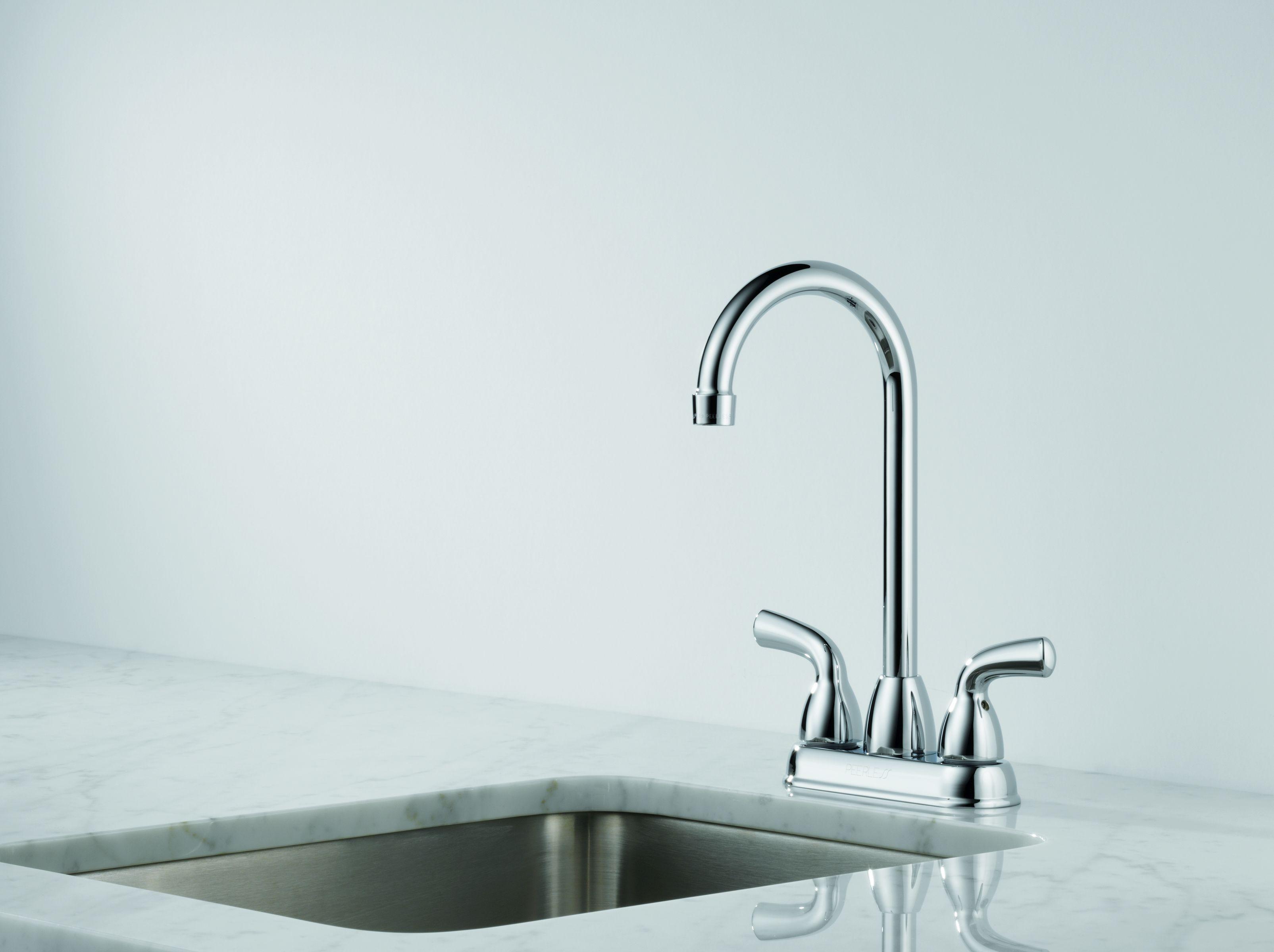 Delta B28910LF Chrome Foundations Bar/Prep Faucet - Includes ...
