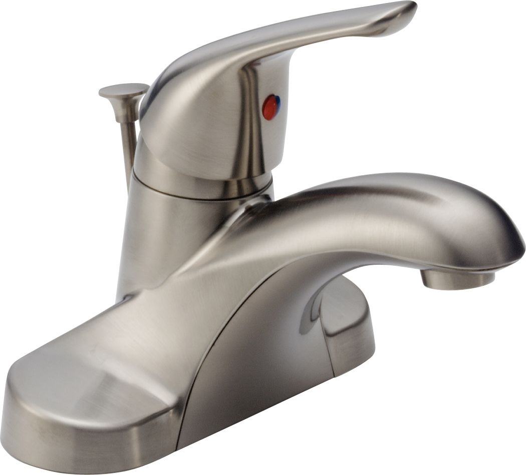 Ordinaire Delta B510LF Chrome Foundations Core B Centerset Bathroom Faucet With  Pop Up Drain Assembly   Includes Lifetime Warranty   Faucet.com