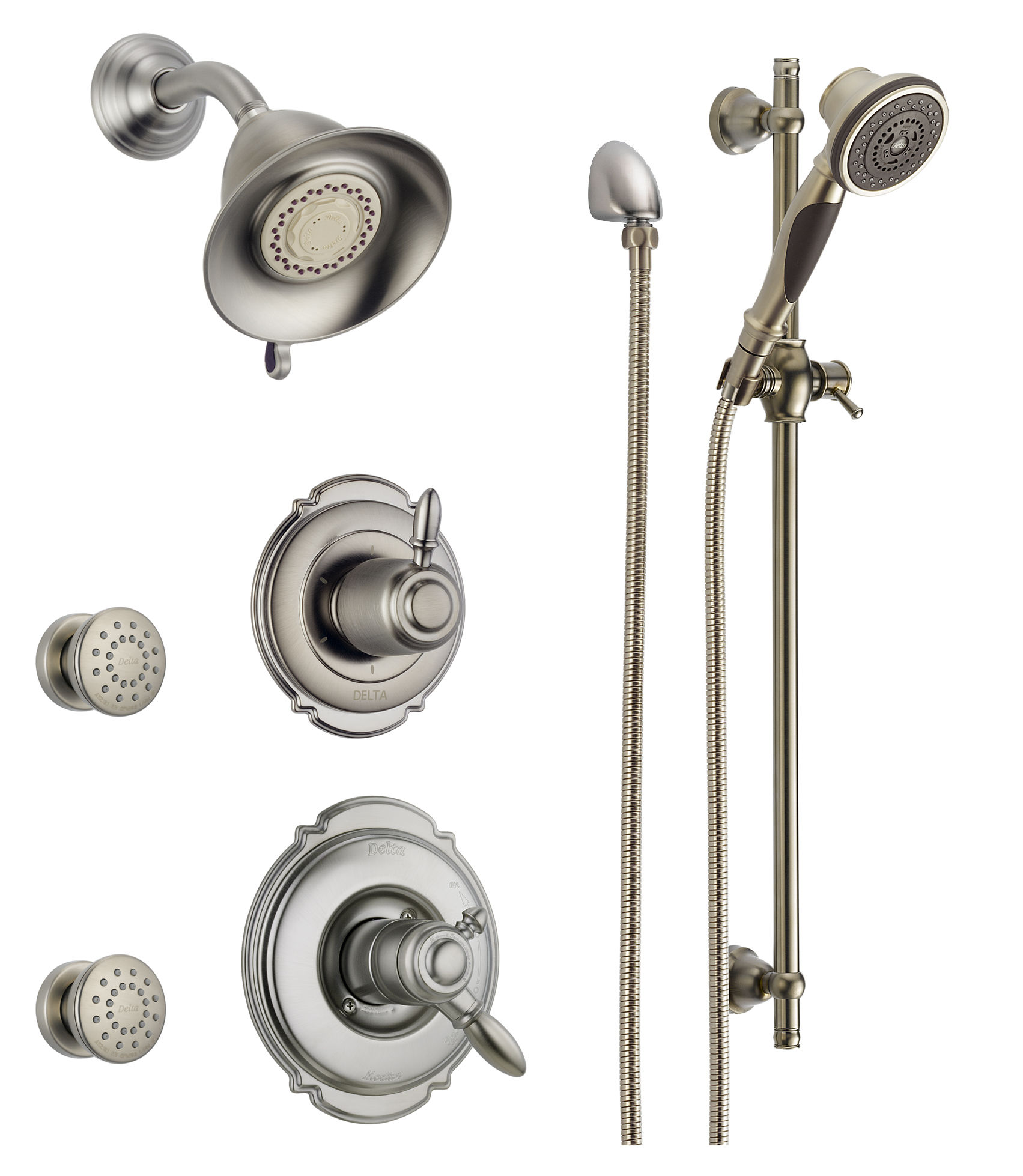Delta DSS-Victorian-1703SS Brilliance Stainless Monitor 17 Series ...