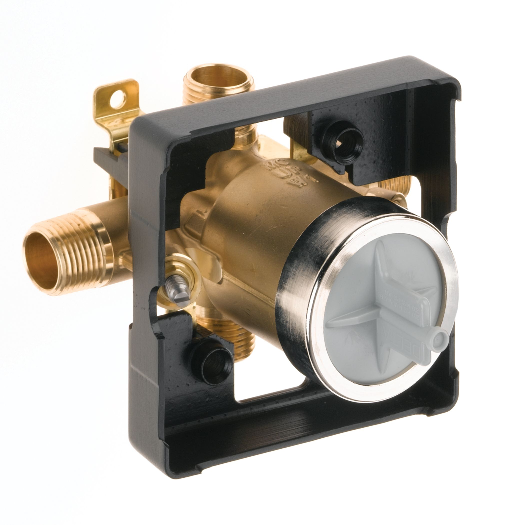 Delta R10000-UNBXT N/A Universal Mixing Rough-In Valve with Thin ...