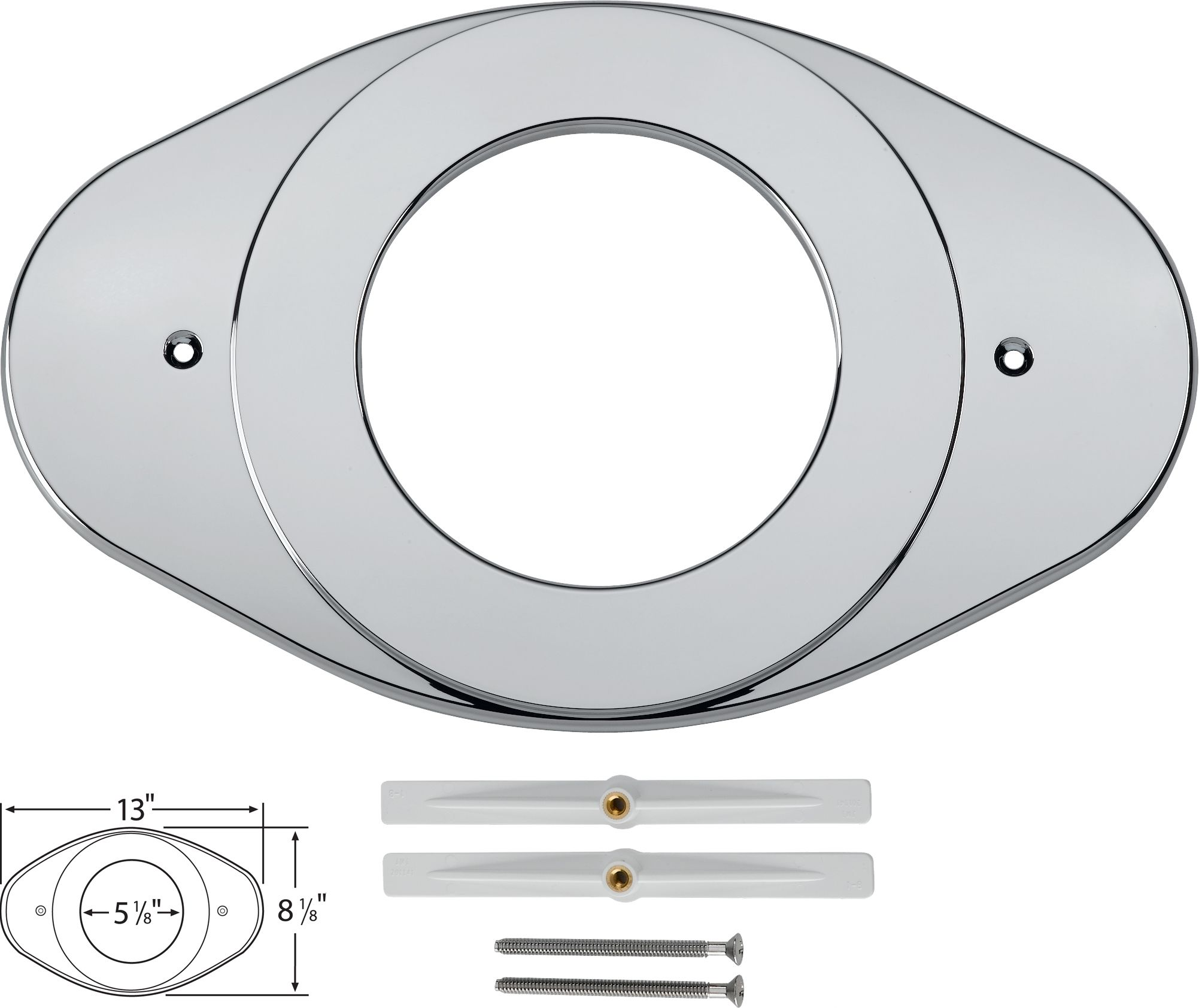 Delta Rp29827 Chrome Renovation Cover Plate Rp Part Number I Don T Know If They Are Available From But