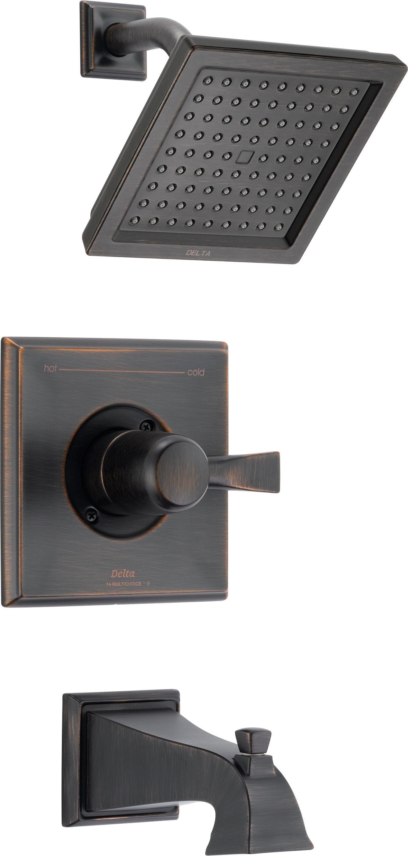 Delta T14451 Rb Venetian Bronze Dryden Tub And Shower Trim Package
