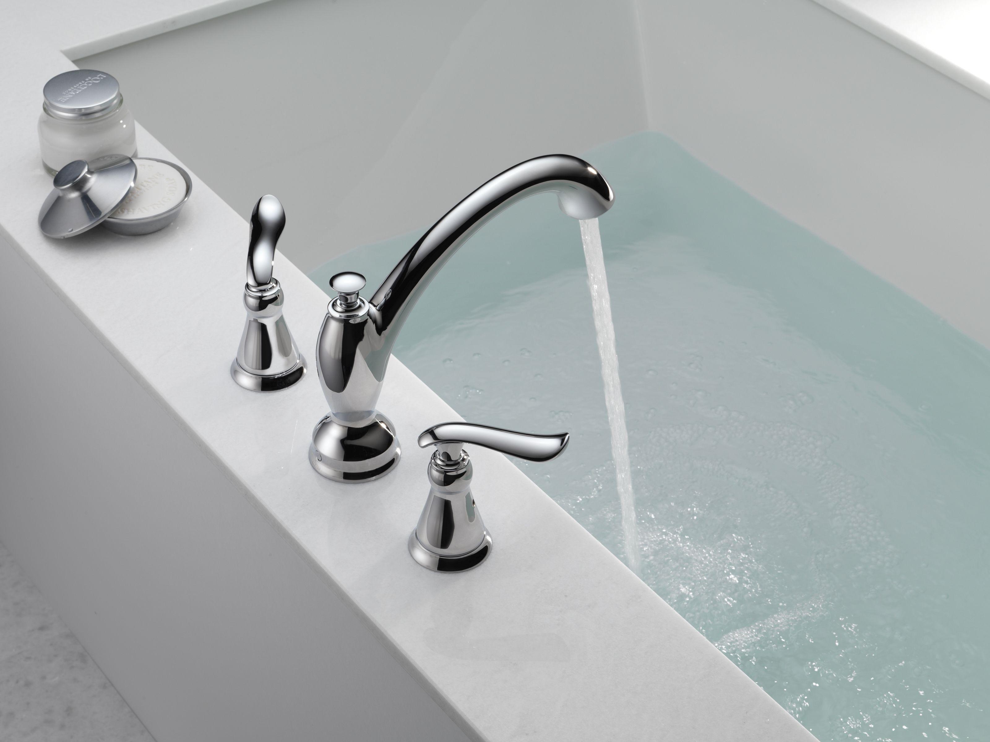 Delta T2794-RB Venetian Bronze Linden Roman Tub Faucet Trim - Faucet.com