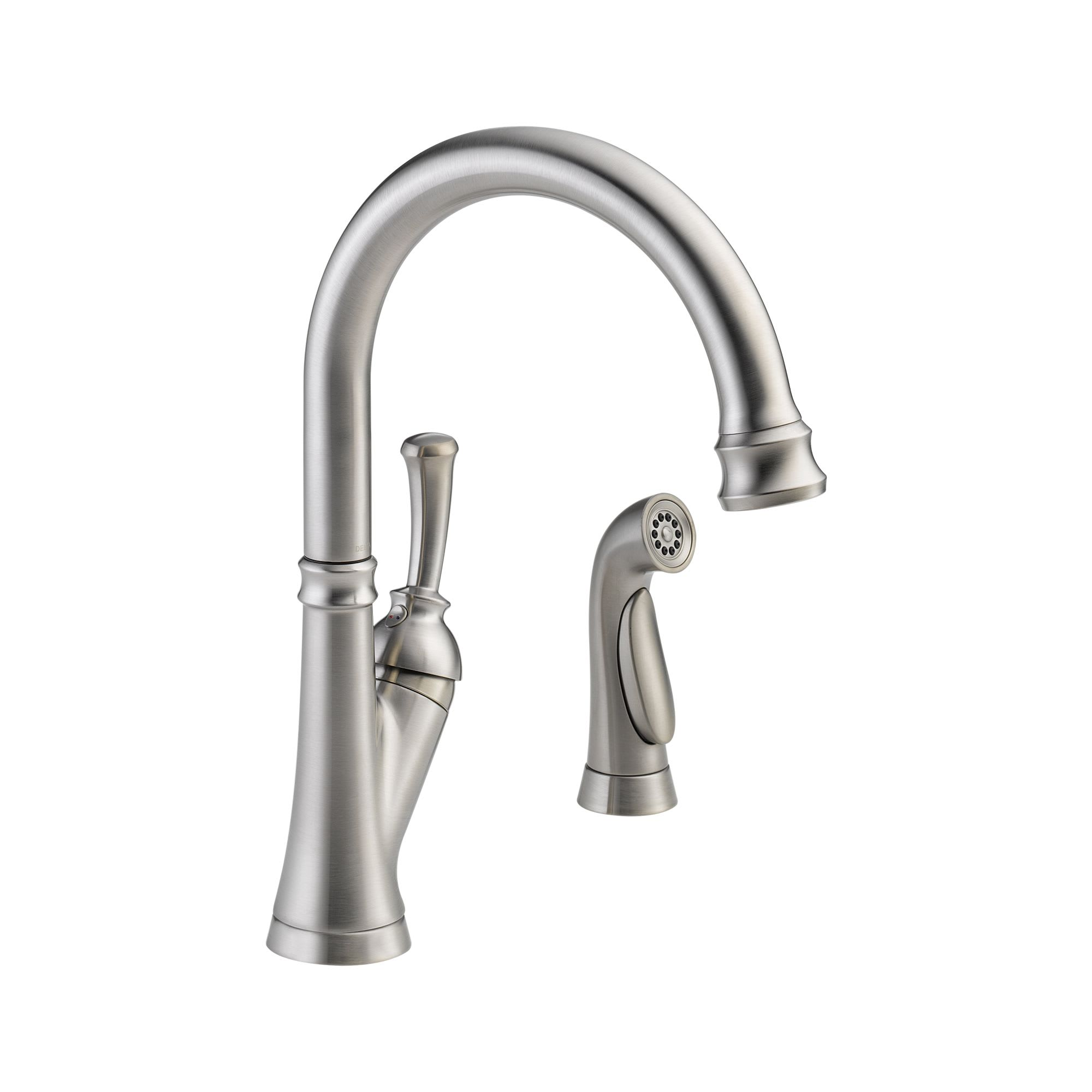 faucet lovely kitchen faucets handle stainless lahara down collection delta pull savile fresh