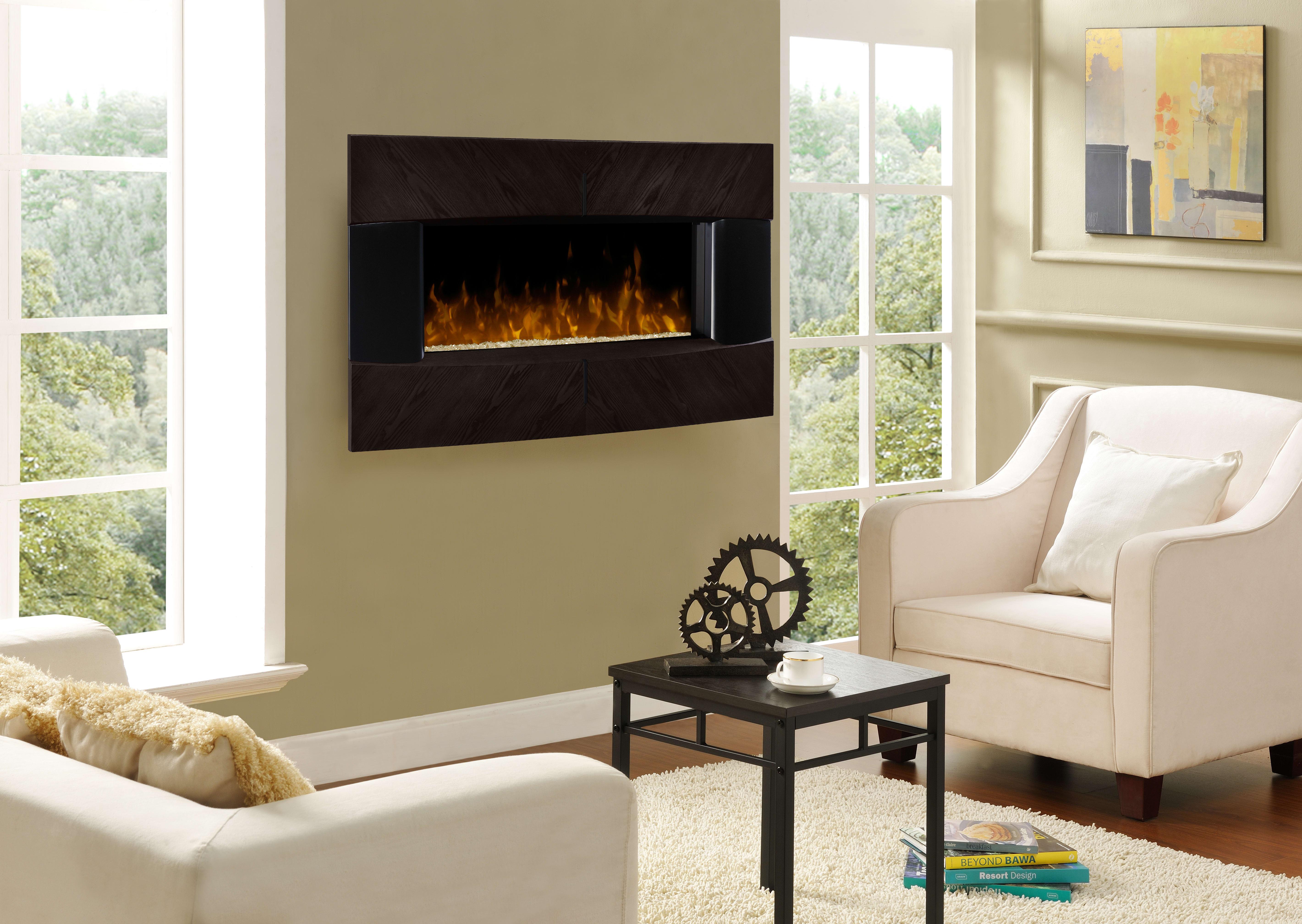 dimplex dwf36g 1482e waltz 51 inch wall mount fireplace