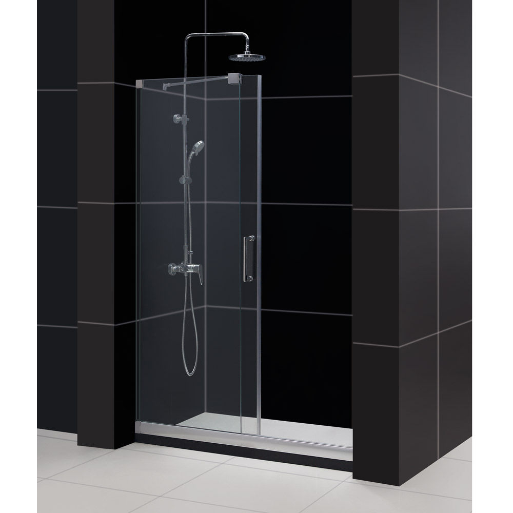 Dreamline shdr 19487210 04 brushed nickel mirage 72 high x 48 dreamline shdr 19487210 04 brushed nickel mirage 72 high x 48 wide sliding frameless shower door with clear glass faucetdirect eventelaan Image collections