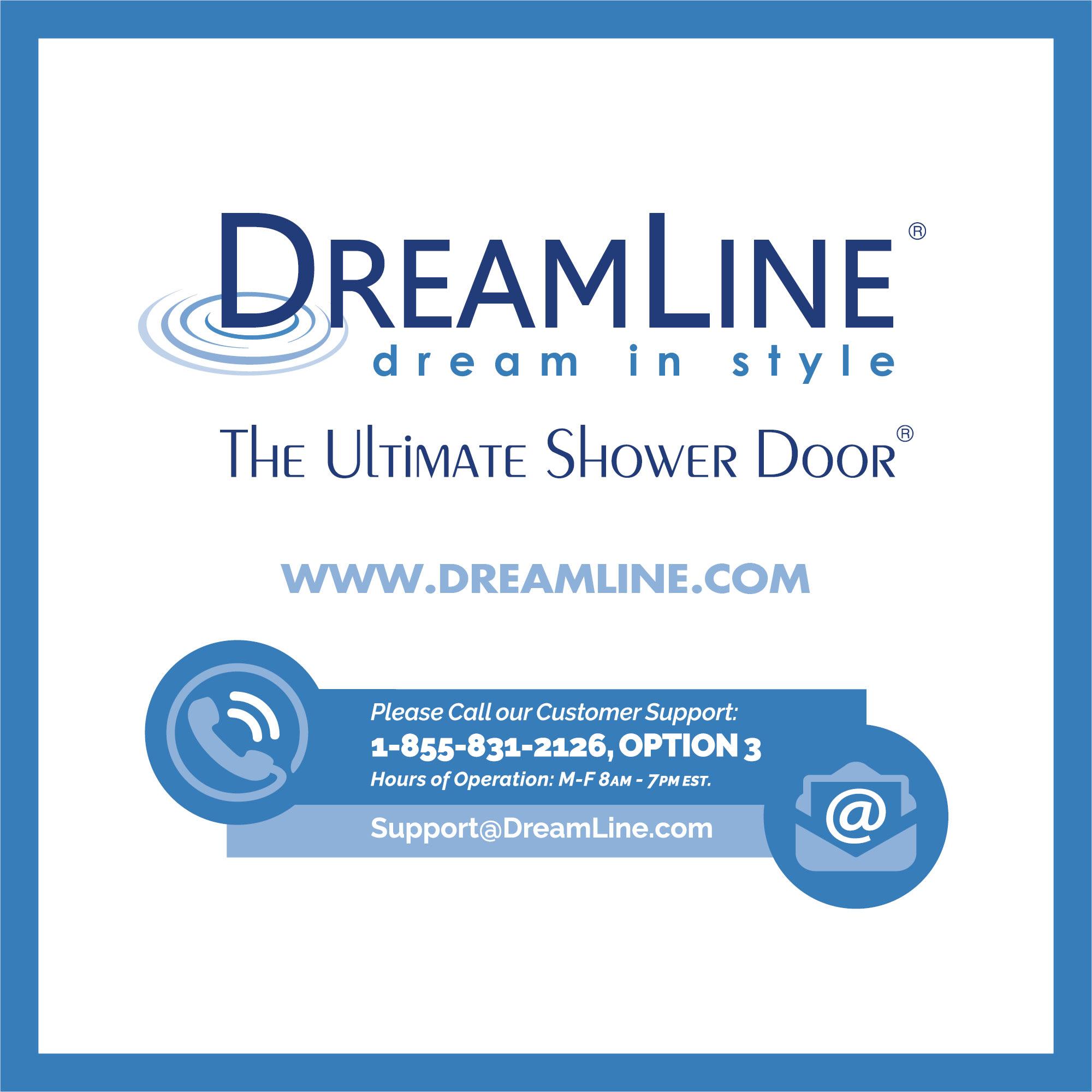 DreamLine SHDR-20307210F-04 Brushed Nickel Unidoor 72\