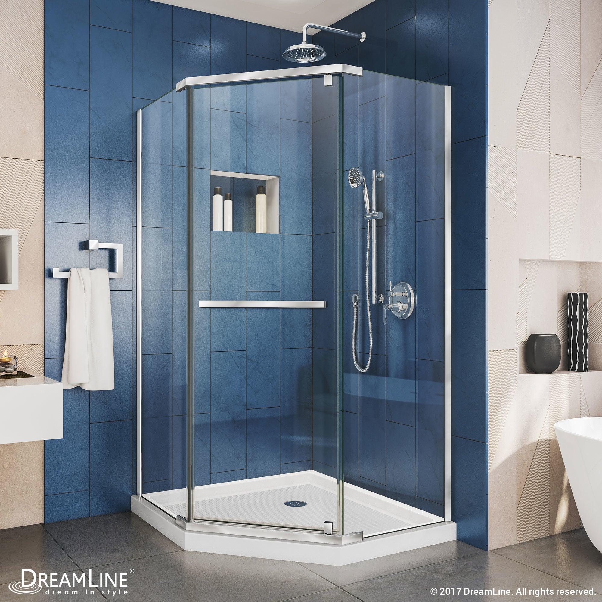 DreamLine SHEN-2134340-04 Brushed Nickel Prism 72\